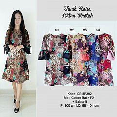 Dress Raisa Batik Katun Stretch