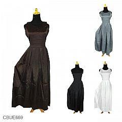 Dress Satin Velvet Ariela