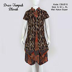 Dress Tumpuk Blarak 9007
