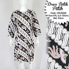 Dress Tunik Batik Motif Parang Bigsize