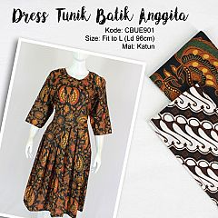 Dress Tunik Batik Anggita Klasik 3