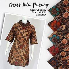 Dress Tunik Lula Motif Parang