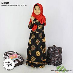 Gamis Anak Koin Cemeng XXL