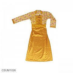 Gamis Batik Anak Motif Anyaman