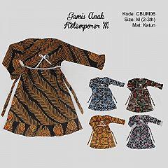 Gamis Batik Anak Kotemporer M