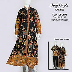 Gamis Batik Etnik Blarak7005
