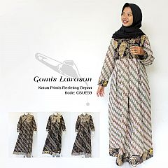 Gamis Batik Lawasan