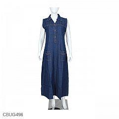 Gamis Jeans Brocade U Can See