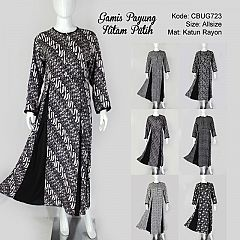 Jual Gamis Batik Sarimbit Murah Model Gamis Batik Couple Terbaru