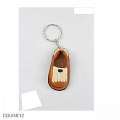 Gantungan Kunci Sepatu Jari Vinyl