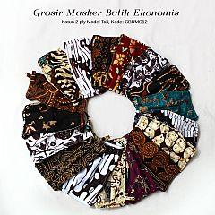 Grosir Masker Batik Murmer Tali (Isi 12 pcs)