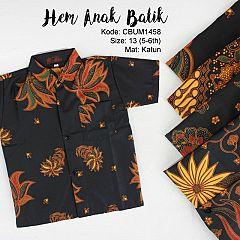 Hem Batik Anak Motif Klasik