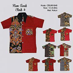 Hem Batik Anak Etnik 4