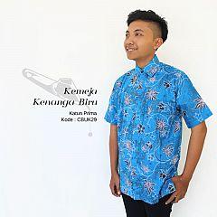 Hem Batik Couple Biru