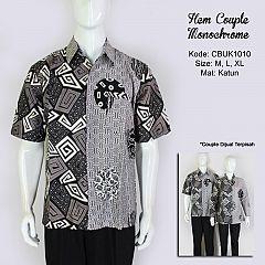 Hem Batik Couple Monochrome