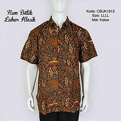 Hem Batik Jumbo Pendek Luhur Klasik