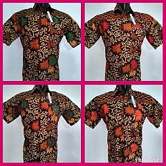 Hem Batik Pendek Motif Anggur Jumbo