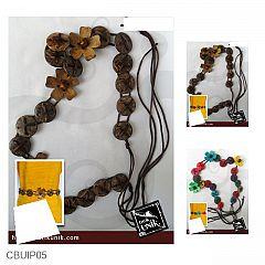 Ikat Pinggang Tali Simple Bunga Batok