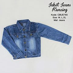 Jacket Jeans Basic Embos