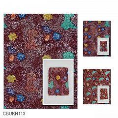 Kain Batik Cap Katun Primis Motif Taman Angkasa Gordon