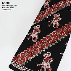 Kain Batik Cap Warna Katun Halus