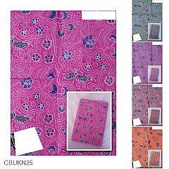 Kain Batik Katun Print Motif Sekar Daun Alas