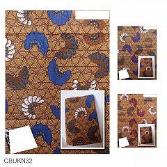 Kain Batik Katun Print Motif Wulu Kipas