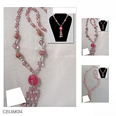Kalung Crystal Colorfull Stone Beads