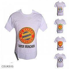 Kaos Batik Etnik Exclusive Motif Batik Bola FC Bayern Munchen