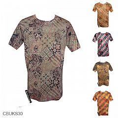 Kaos Batik Exclusive Motif Batik Kontemporer