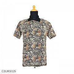 Kaos Batik Motif Sogan