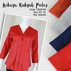 Kebaya Rubyah Balotelli Polos