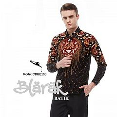 Kemeja Batik Blarak Motifseno Menggah