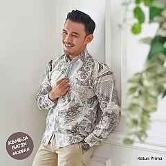 Kemeja Batik Katun Lengan Panjang