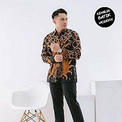 Kemeja Batik Katun Modern Keren