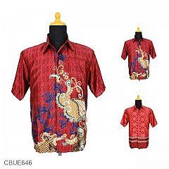 Kemeja Batik Mahfud Motif Songket Kembang