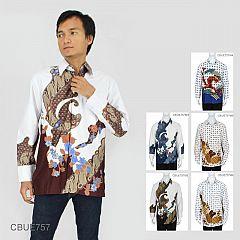 Kemeja Batik Panjang Motif Parang Jagad