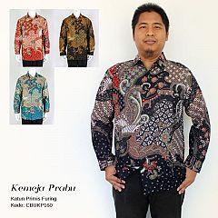 Kemeja Batik Panjang Primis Kotemporer