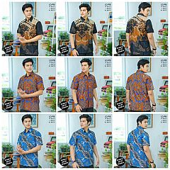 Kemeja Batik Print Halus Katun Berkualitas