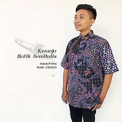 Kemeja Batik semi Tulis Katun Halus