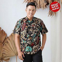 Kemeja Batik Taman Temaram