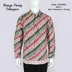Kemeja Panjang Batik Puring Adinegoro
