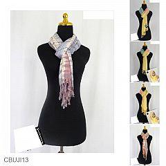 Kerudung Modern Tie Dye Exclusive Bahan Tenun