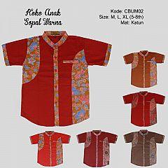 Koko Anak Batik Sopal Warna