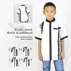 Koko Anak Batik Ayodia Putih