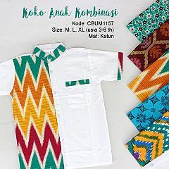 Koko Batik Anak Abstrak
