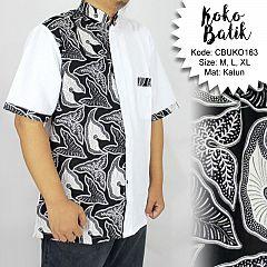 Koko Batik Katun Motif Daun