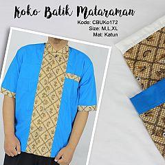 Koko Batik Klasik Mataram