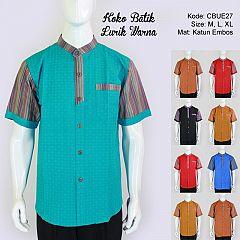 Koko Batik Lurik Warna