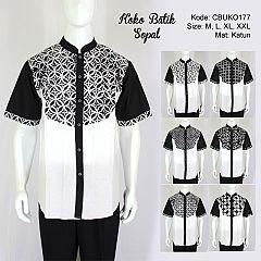 Koko Batik Sopal Motif Kotemporer